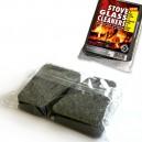 Pack de dos esponjas para limpieza en seco del cristal de chimeneas y estufas