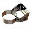 Abrazadera fijación pared regulable 50-75 mm EW-ECO 316