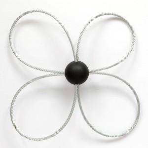 Cabezal con Bucle de acero para SnapLok rotatorio