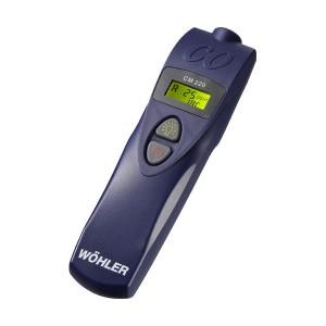 Medición CO del aire ambiente Wöhler CM 220